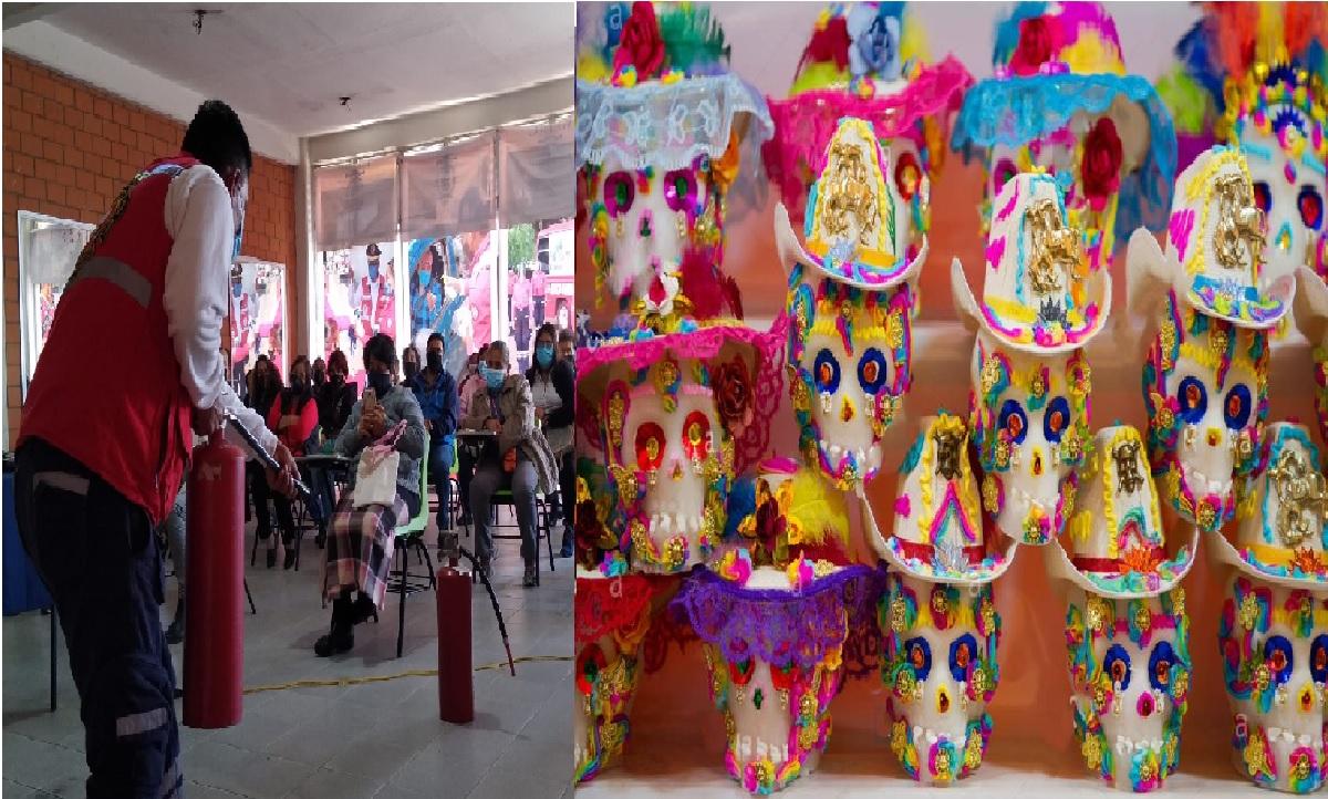 Expositores de la Feria del Alfeñique 2021 reciben capacitación