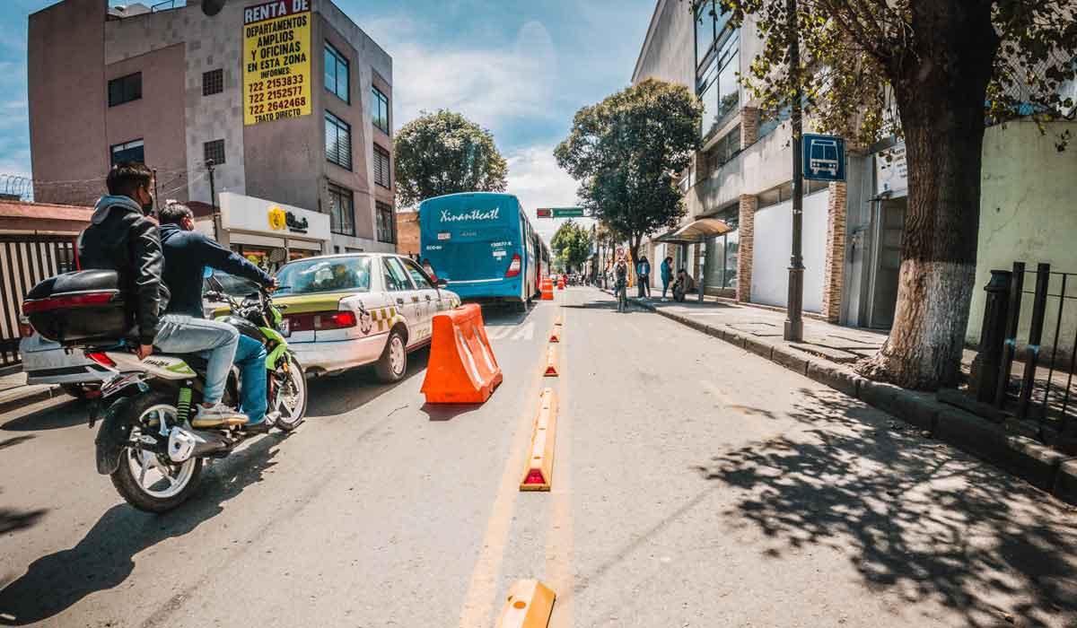 Proyecto Ciclovía Paseo Colón, en Toluca: ¡Avanza el proceso de construcción!