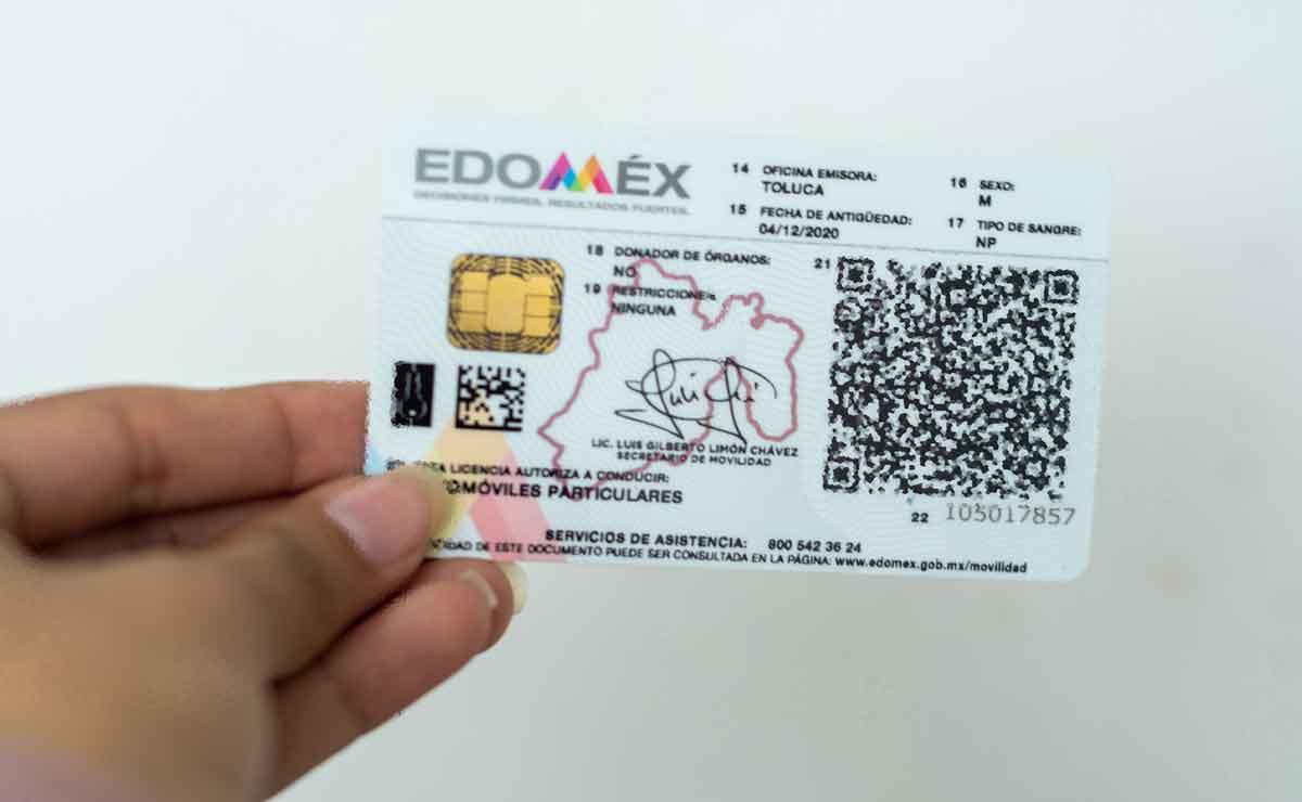 renovar licencia de conducir edomex