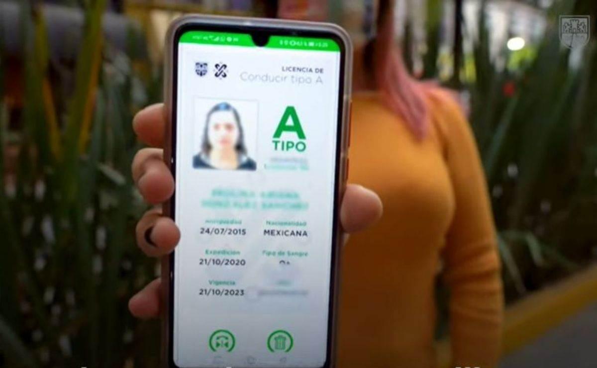 ¿Cómo sacar la licencia de conducir digital en CDMX?