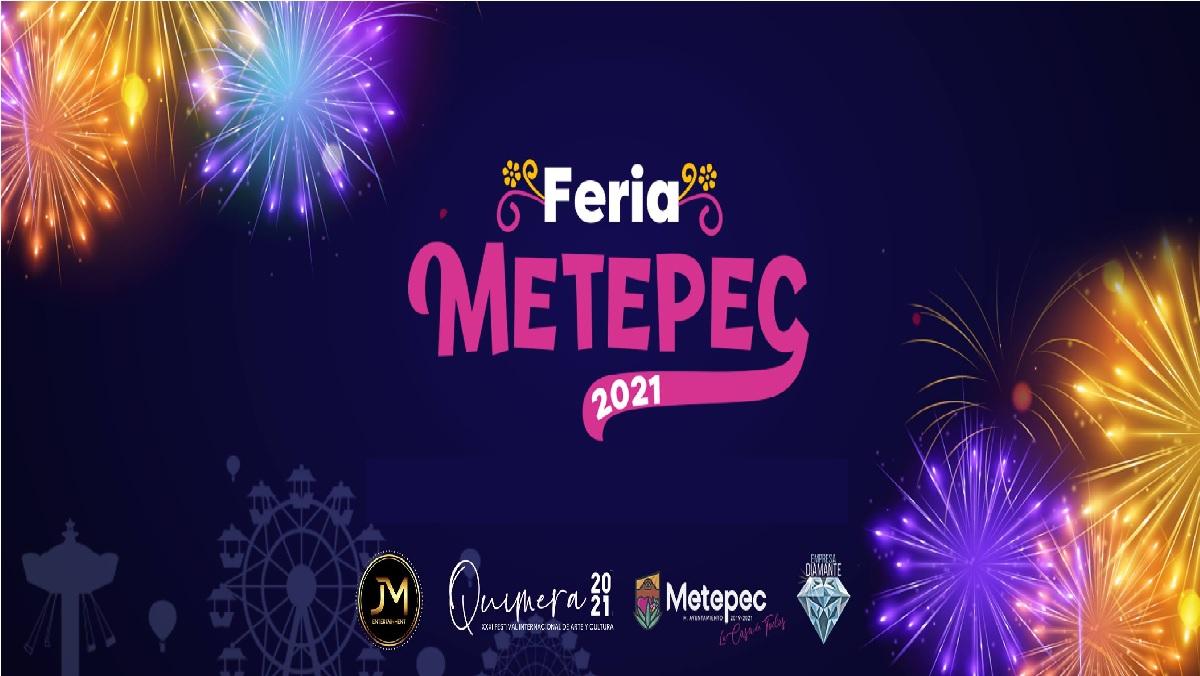 Usuarios filtran posible cartel de la Feria de Metepec 2021