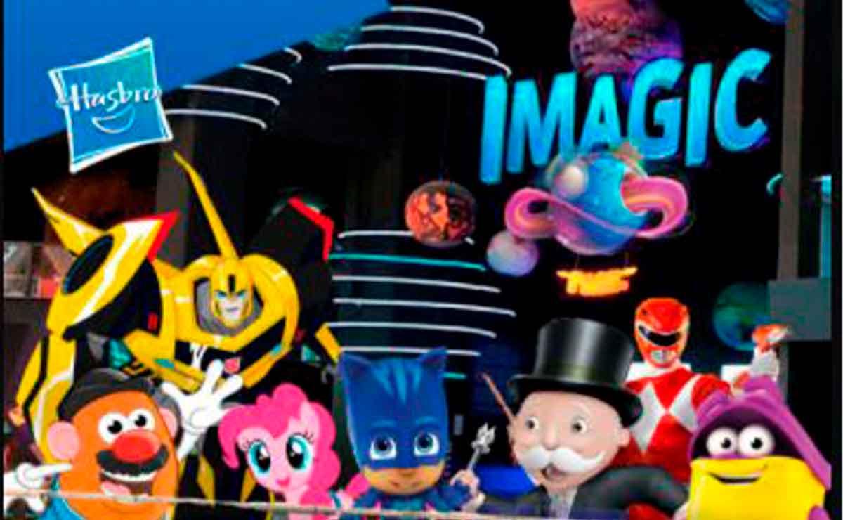 Hasbro parque temático Imagic Park