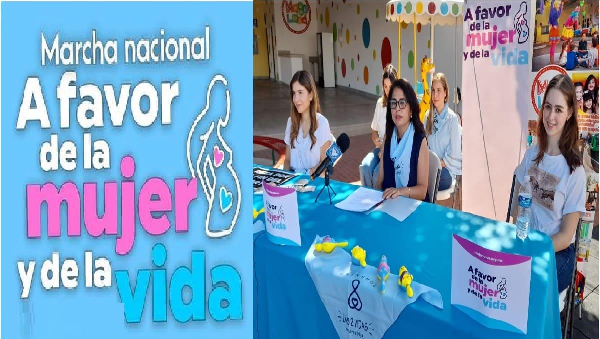 Marcha a favor de la vida es apoyada por la Arquidiócesis de Toluca