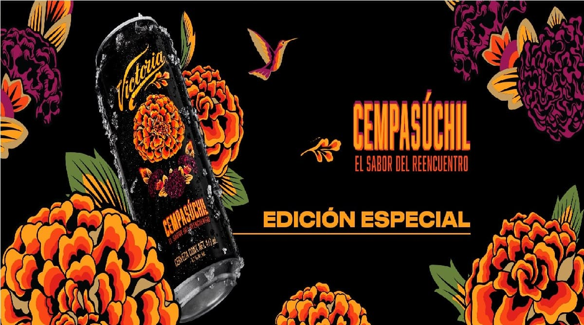 México lanza cerveza de cempasúchil exclusiva por Día de Muertos