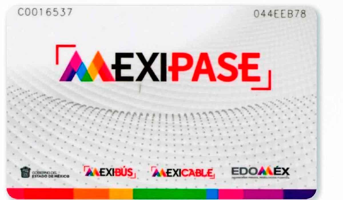 Nueva tarjeta del trasporte publico del edomex para mexicable y mexibus