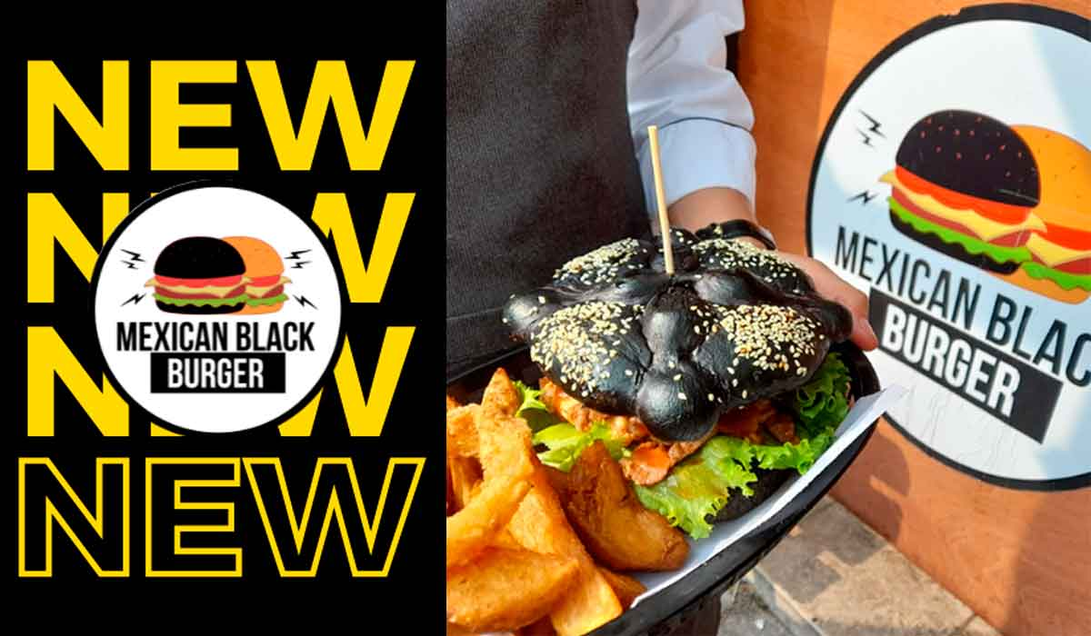 ¿Hamburguesa con Pan de Muerto Negro? - ¡Una más al catálogo gastronómico!