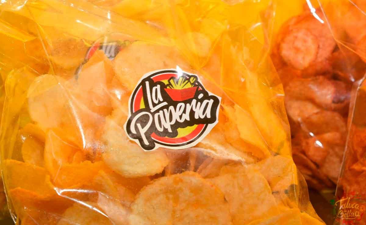 Papas fritas en Toluca