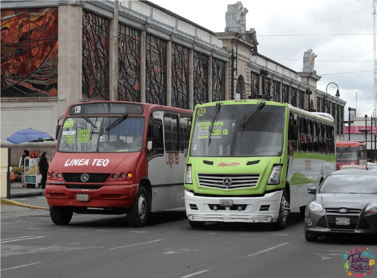 Transportistas de Toluca harán un paro de labores el lunes 11 de octubre