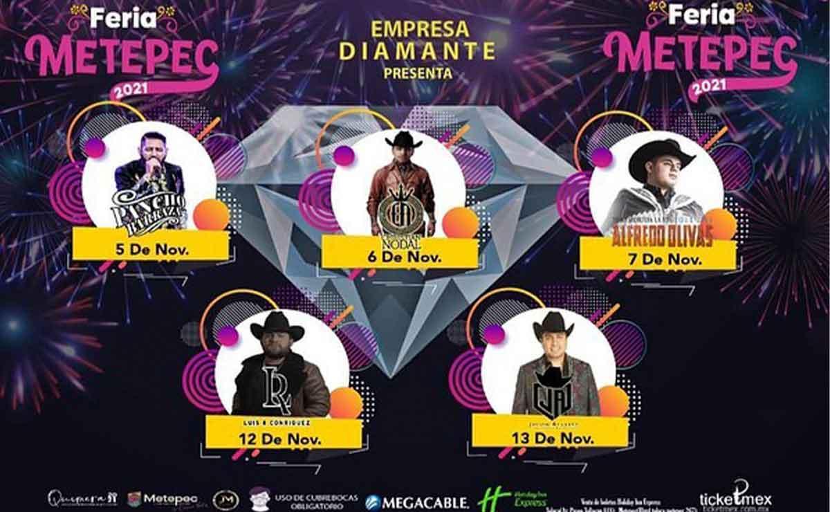 Piden cancelar Feria de Metepec 2021