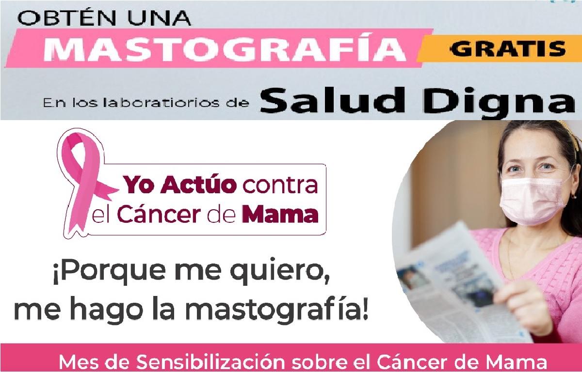 Gobierno municipal de Toluca ofrecerá mastografías gratuitas