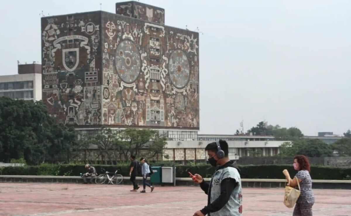 El regreso a clases presenciales de la UNAM se llevará  acabo de manera voluntaria