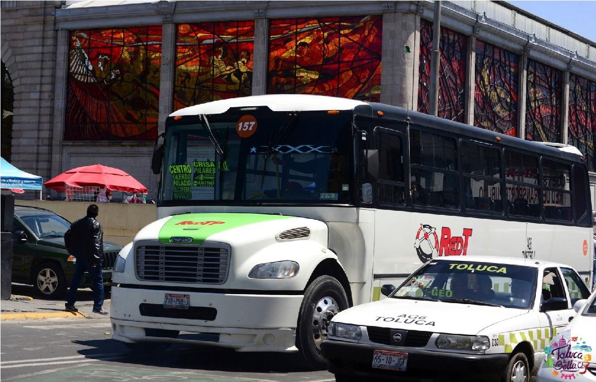 Paro de transportistas de Toluca se suspende ante reunión con Semov