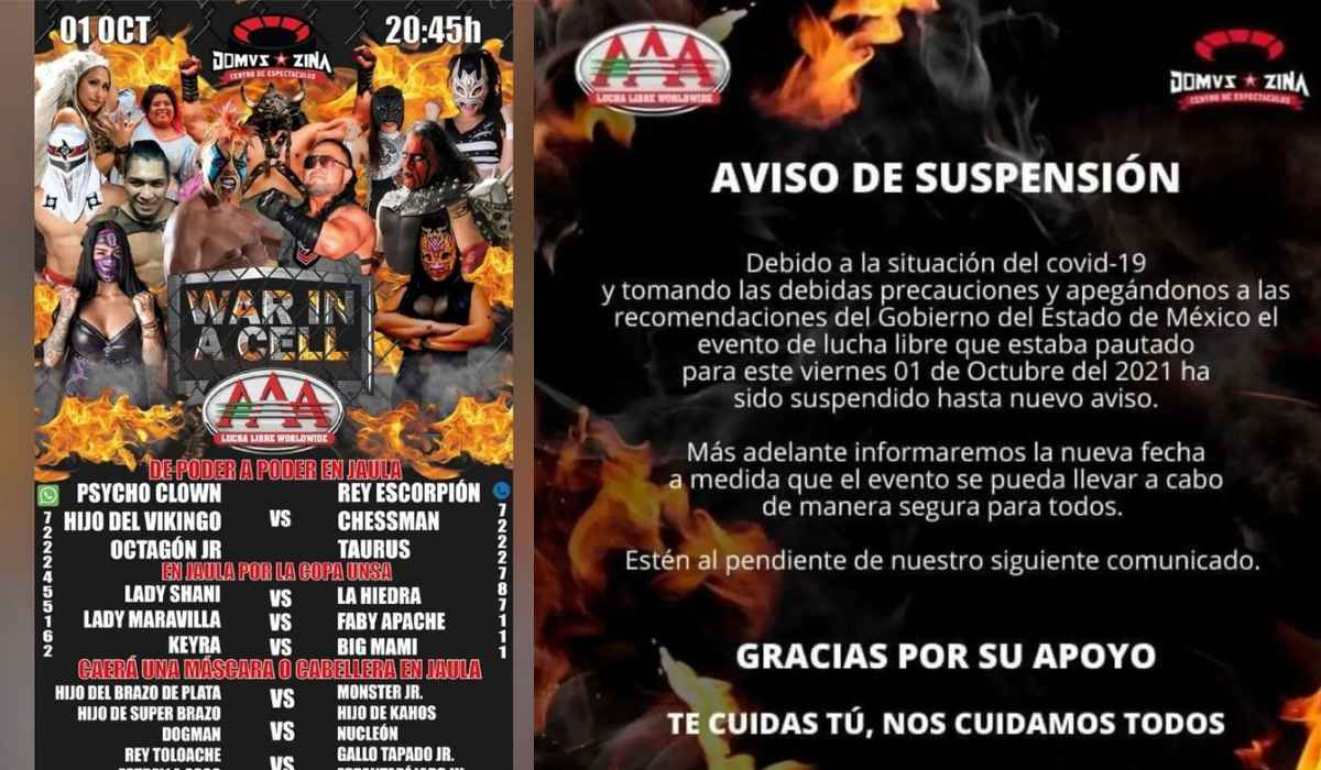 Noticias EdoMéx- Función de lucha libre es suspendida por COPRISEM en Zinacantepec