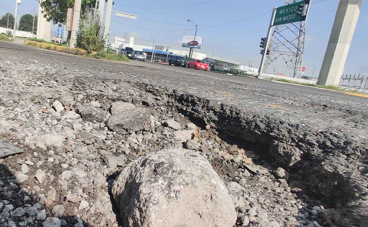Toluca: La capital de los baches