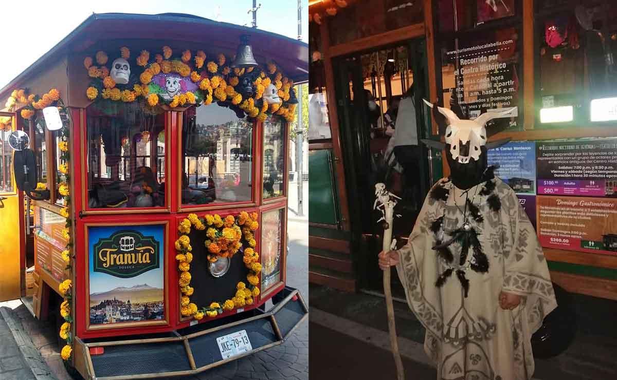 Toluca: Disfruta de recorridos nocturnos por Día de Muertos en tranvía