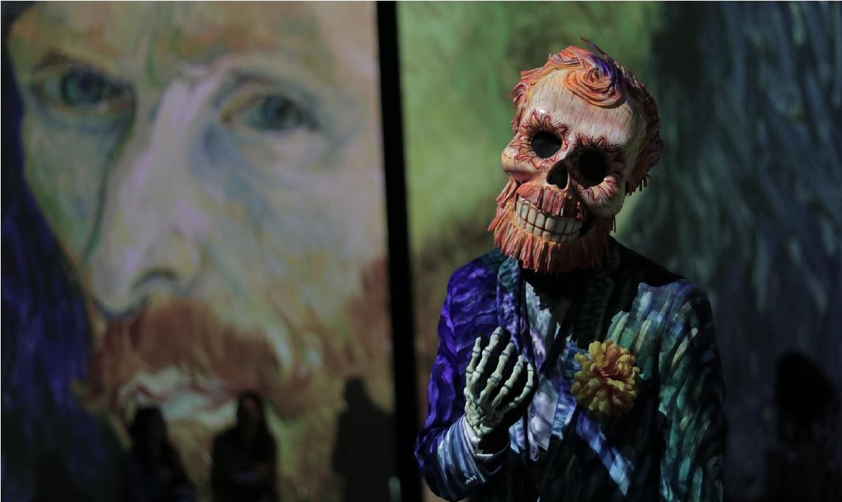 Van Gogh Alive llegó al Parque de la Ciencia en Toluca